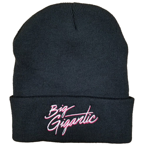 Big Gigantic Black Beanie