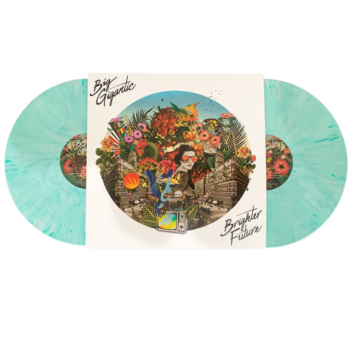 Brighter Future Double LP - Printed On Teal Marble Vinyl