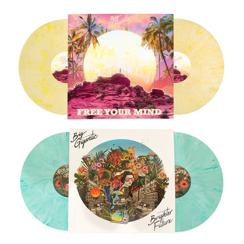 VINYL BUNDLE! - Free Your Mind Double LP & Brighter Future Double LP