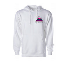 Got the Love - Pyramid Hoodie White