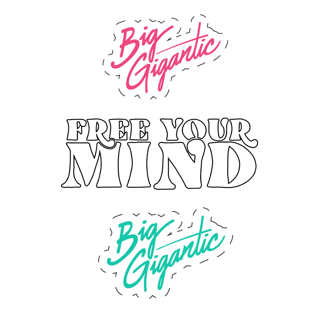 Free Your Mind Sticker Pack