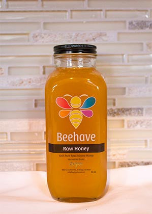 1.5 lbs Pure Raw Honey