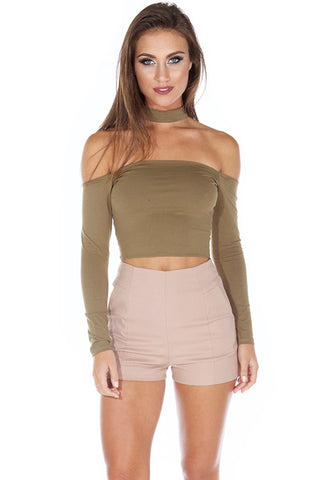 On Point Top - Khaki