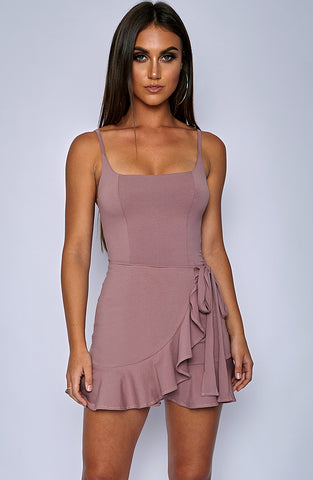 Verena Dress - Mauve