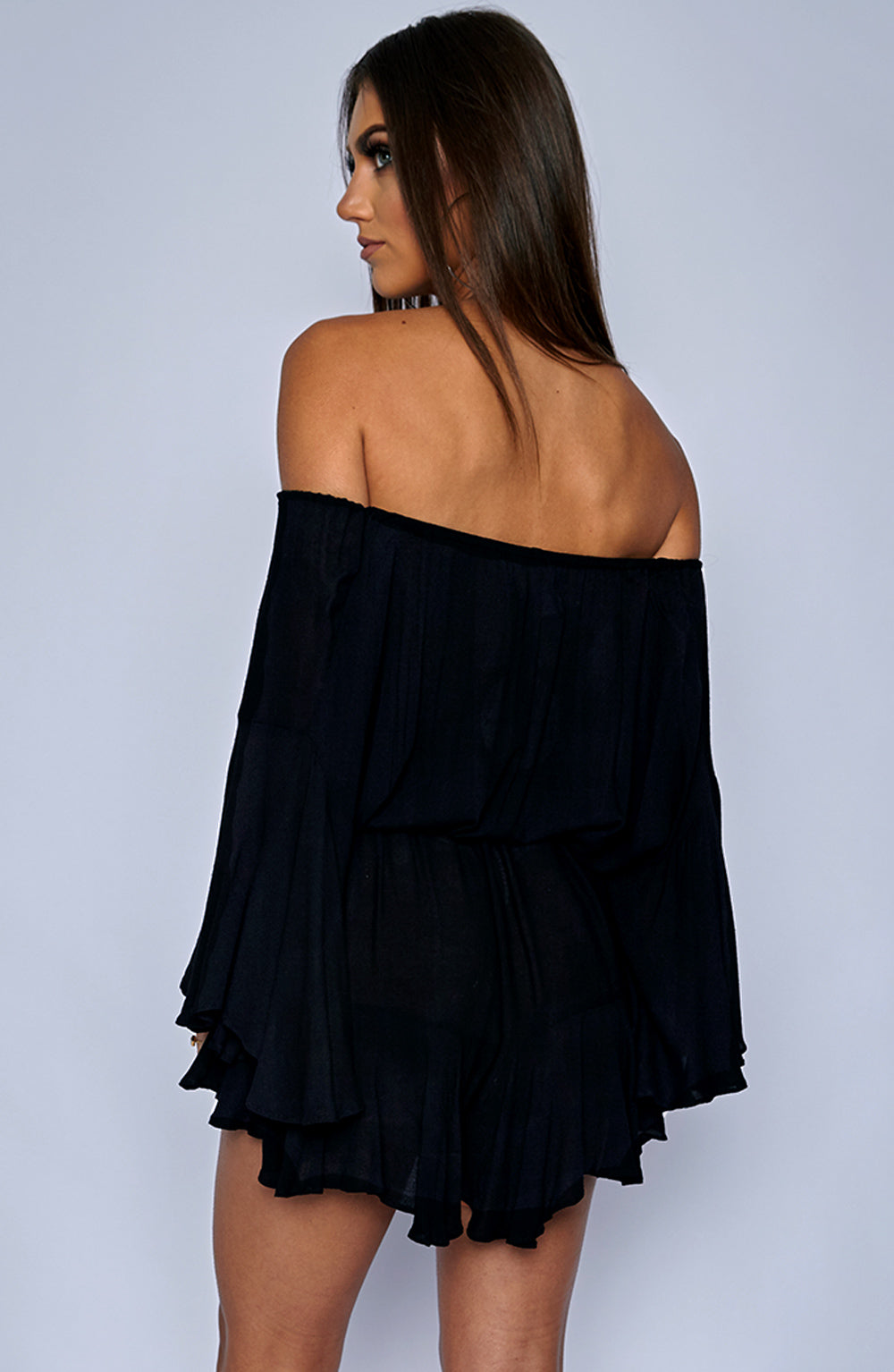 Tatiana Playsuit - Black