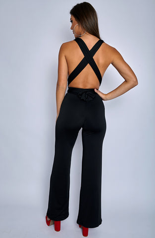 Leia Jumpsuit - Black