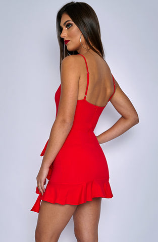 Verena Dress - Red