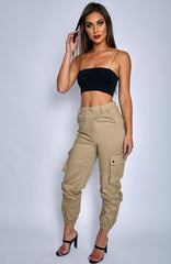 Ignition Cargo Pants - Beige