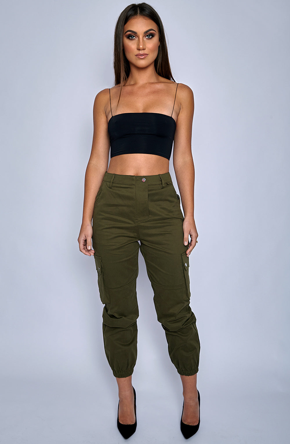Ignition Cargo Pants - Khaki