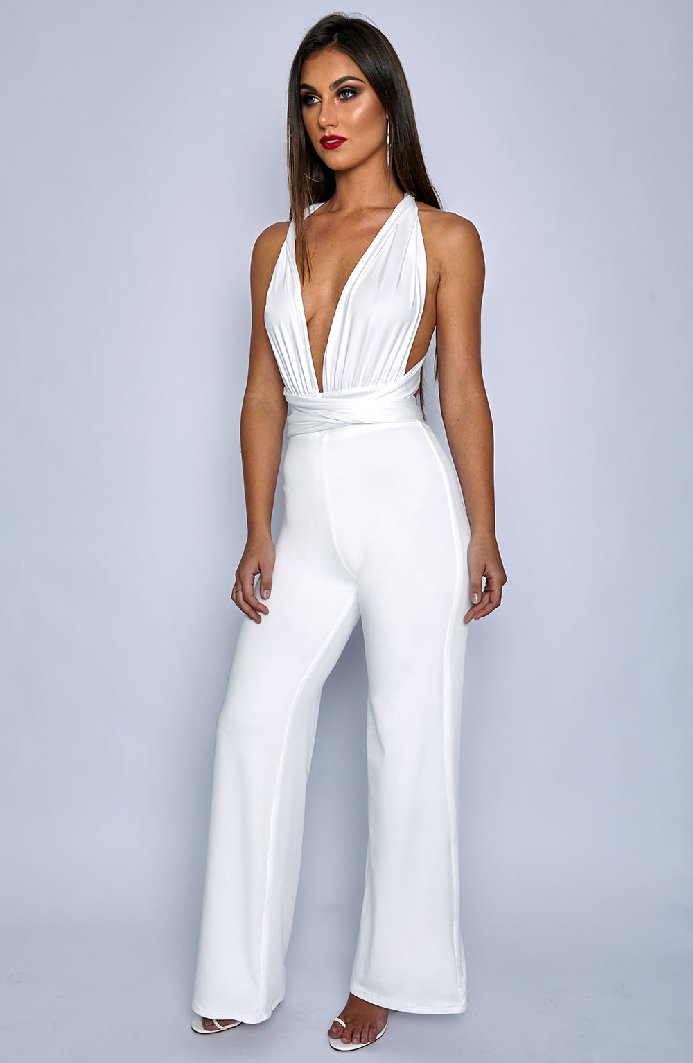 Leia Jumpsuit - White