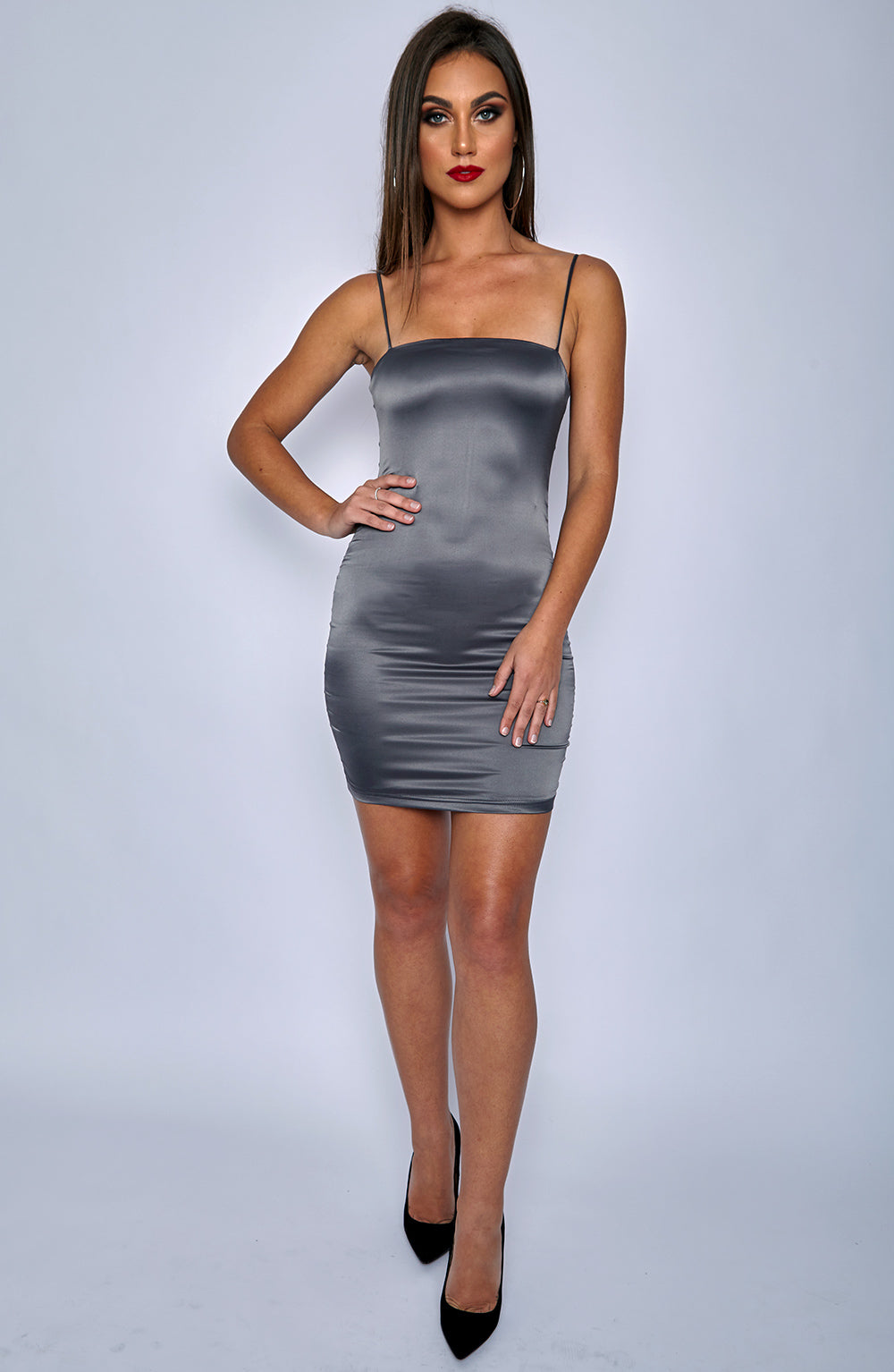 Sugar and Spice Dress - Charcoal