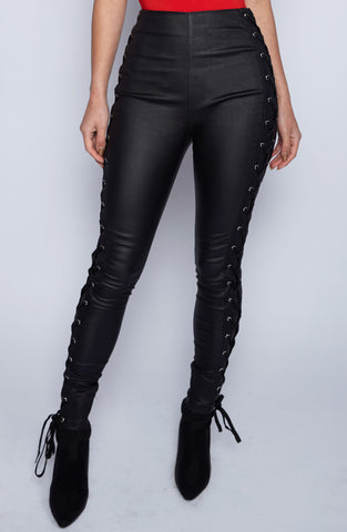 Hell Razor Pants-Black