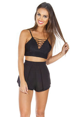 Luxury Life Shorts - Black