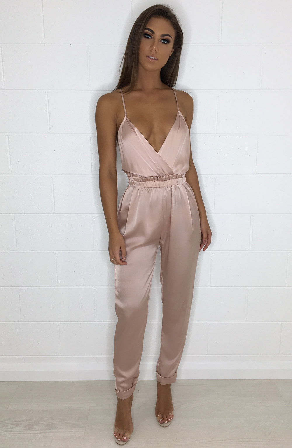 Scarlett Jumpsuit - Dusty Pink