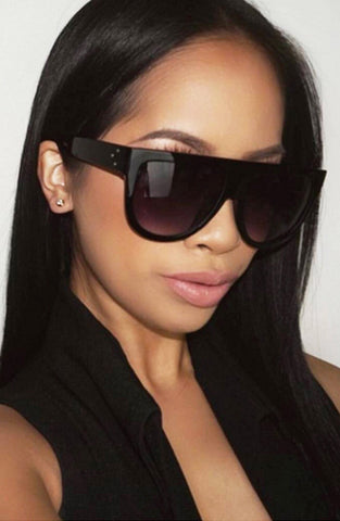 Get To It Sunglasses - Black