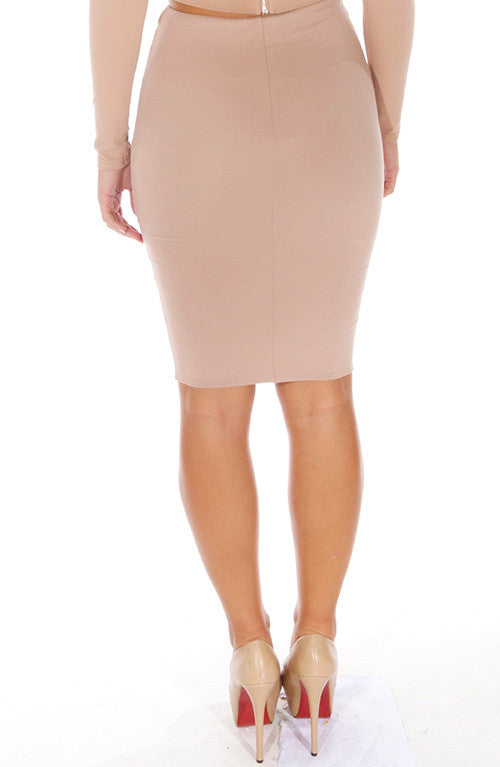 Heavenly Skirt - Tan