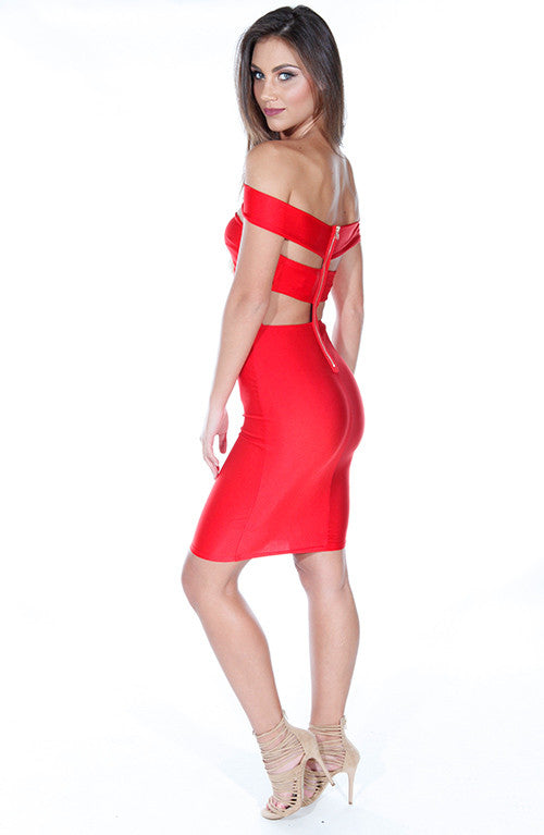 Kylie Jenner Dress - Red