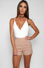 Hot Right Now Bodysuit Onepiece - White