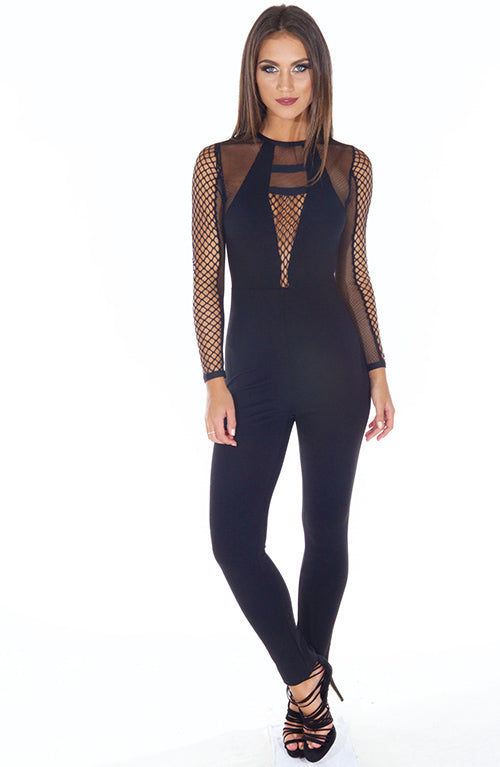 Playing with fire Jumpsuit - Black