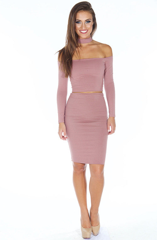 On Point Top - Dusty Pink
