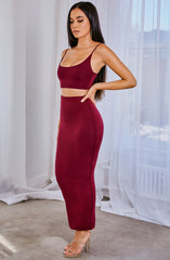 Abbi Set - Burgundy