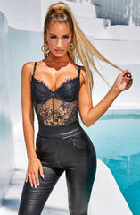 Alayna Bodysuit - Black