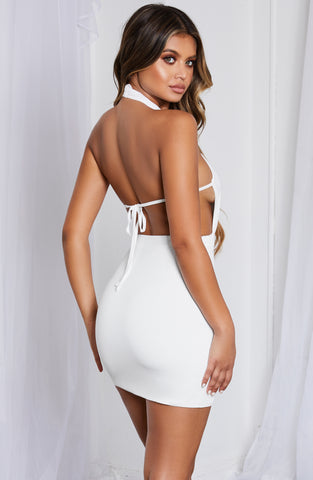 Allissa Dress - White
