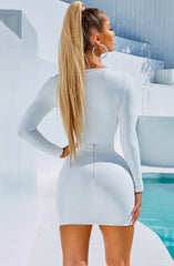 Anna Bodysuit - White