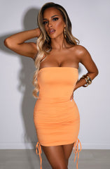 Adelle Mini Dress - Tangerine
