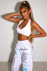 Alicia Crop - White