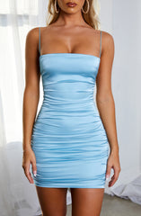Anastasia Mini Dress - Baby Blue
