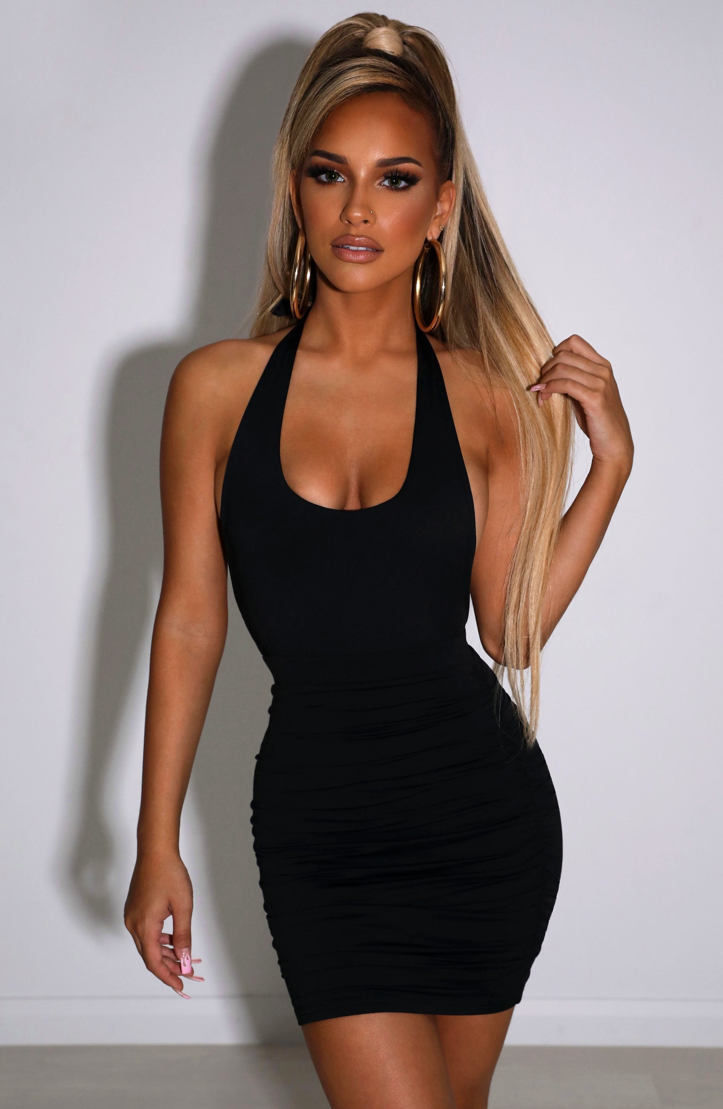 Anita Mini Dress - Black