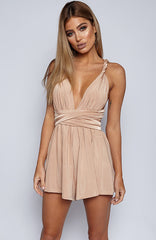New Direction Playsuit - Beige