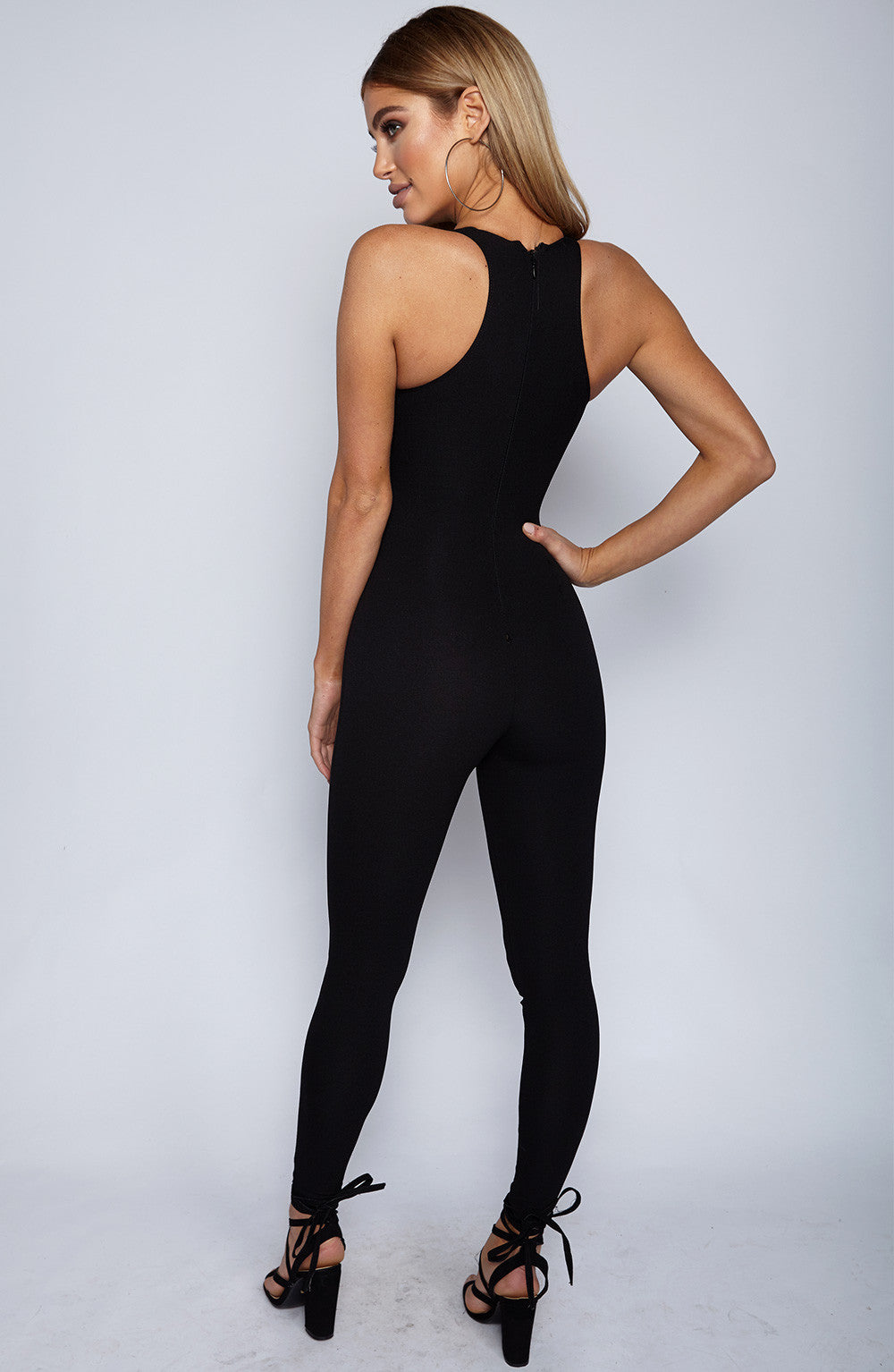 Night Rider Jumpsuit - Black