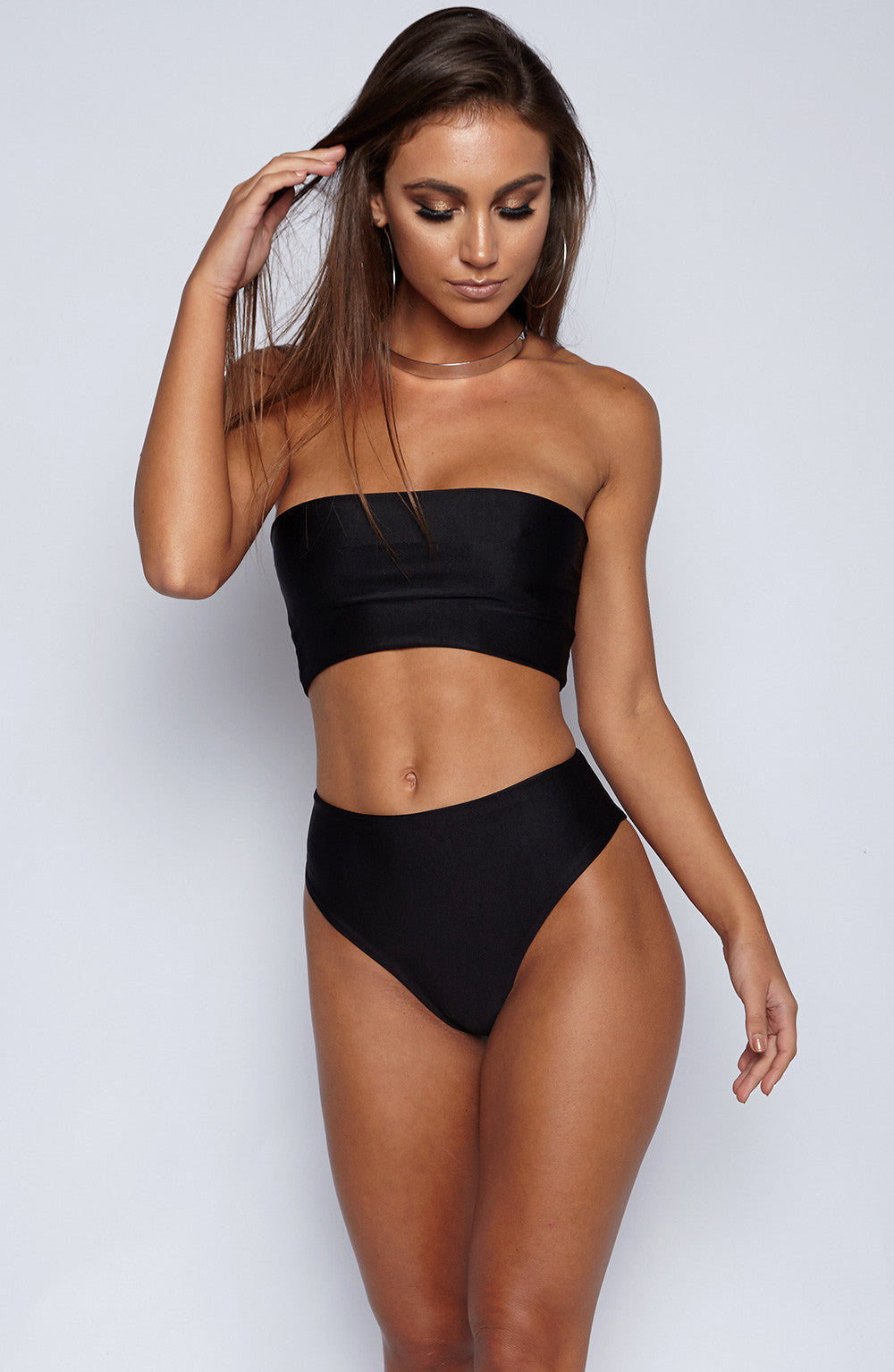 Alina Swimwear Set - Black