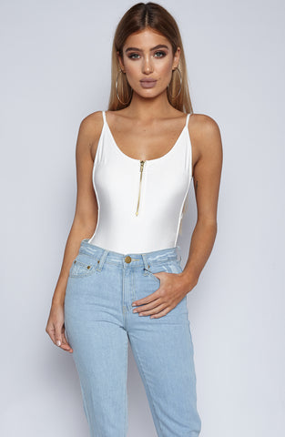 Xia Bodysuit - White