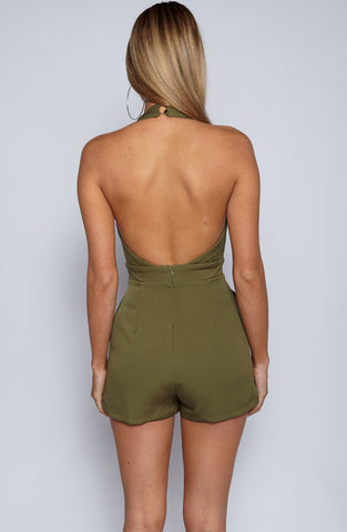 Royal Playsuit - Khaki