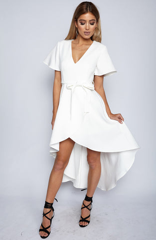 High Society Dress - White