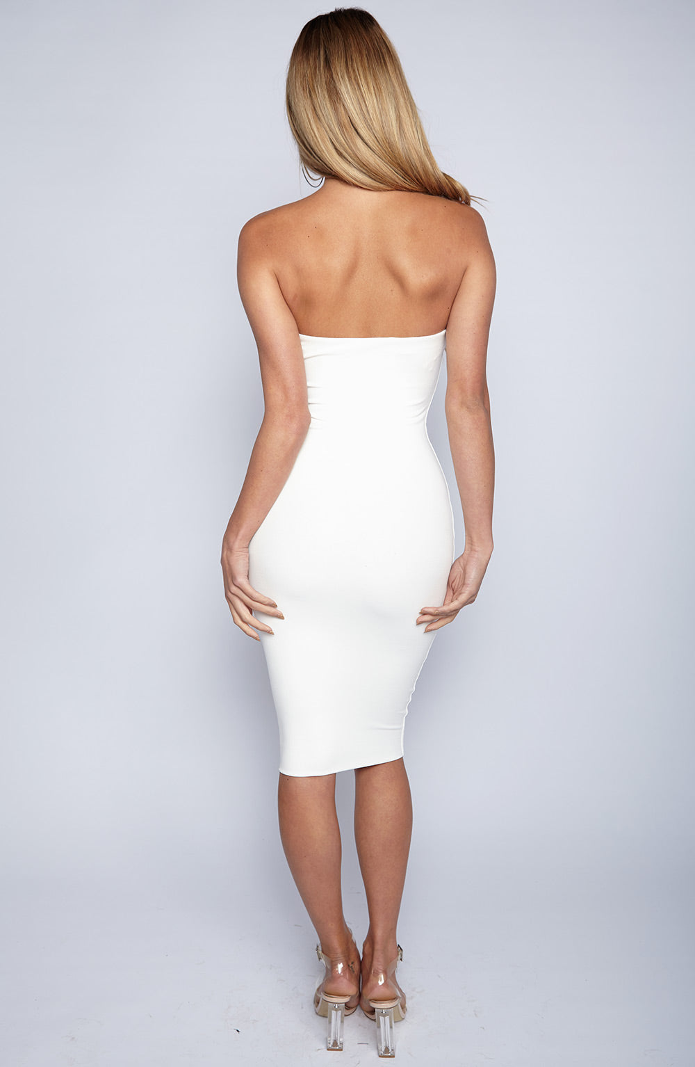 Zaria Dress - White