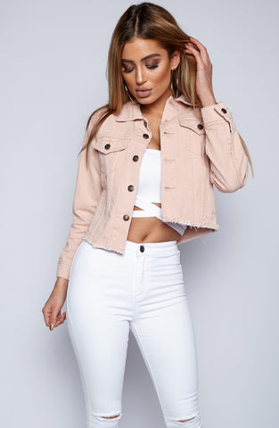 Kiss Me Pretty Jacket - Pink