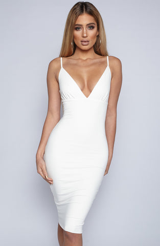 Last Dance Dress - White