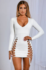 Candy Mini Dress - White