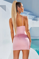 Chantel Mini Dress - Baby Pink