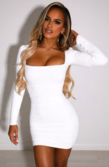 Candice Mini Dress - White