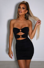 Coco Mini Dress - Black