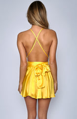 Unconditional Love Playsuit - Yellow