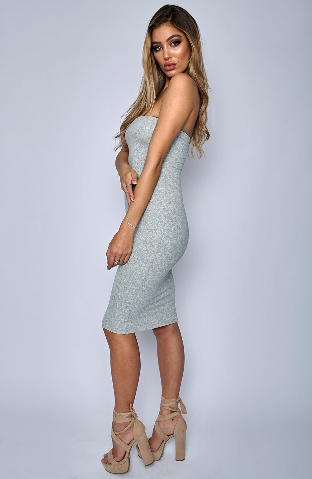 Zaria Dress - Grey