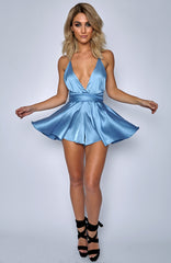 Unconditional Love Playsuit - Baby Blue