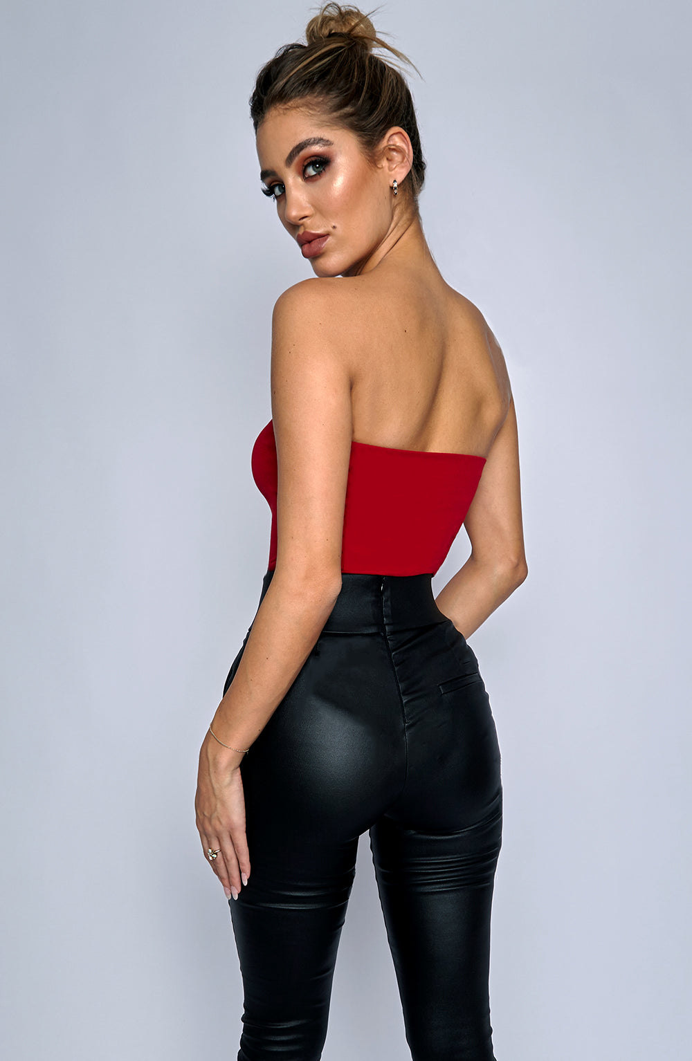 Saint Monica Bodysuit - Red