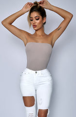Saint Monica Bodysuit - Mauve
